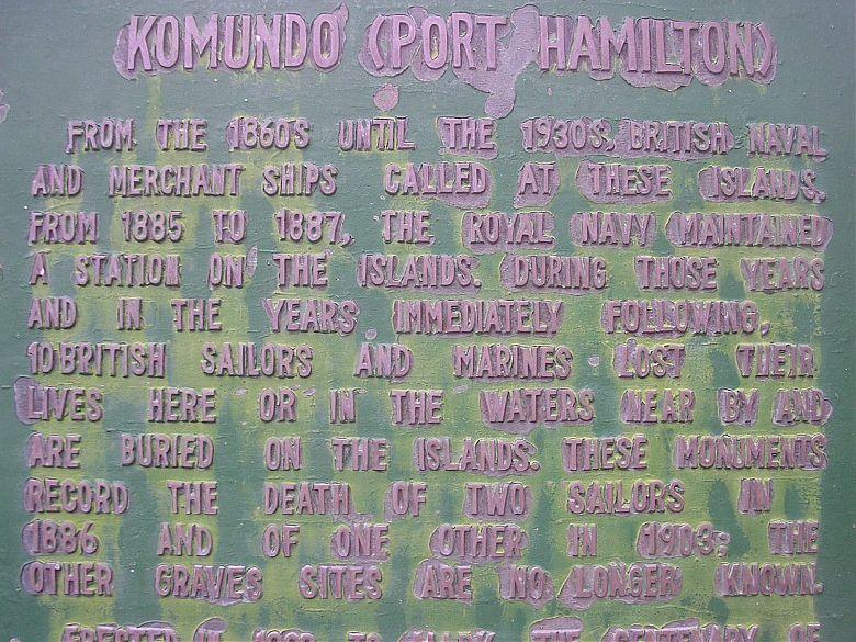 Komundo (Port Hamilton)