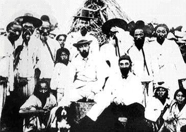 Англичане и корейцы на Комундо. 1886