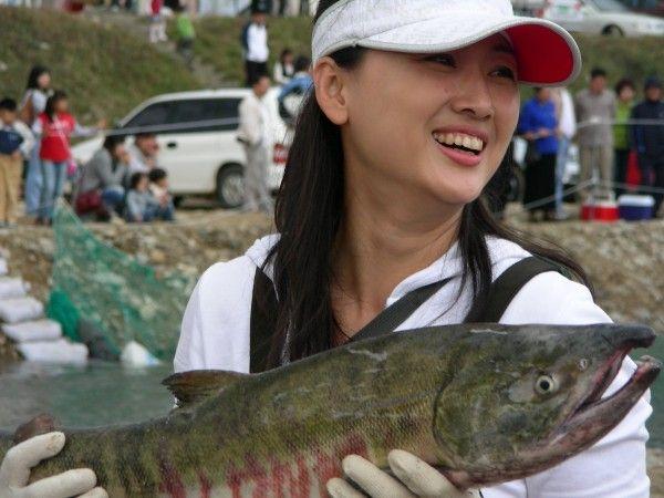 Не каждый мужчина может похвастаться такой рыбой!