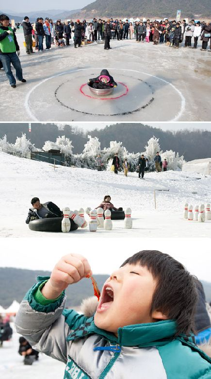 Множество мероприятий на любой вкус прошло во время зимних Фестивалей (Фото любезно предоставлено Комитетом Фестиваля подледной рыбалки Инчже)