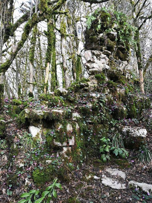 Развалины древнего замка