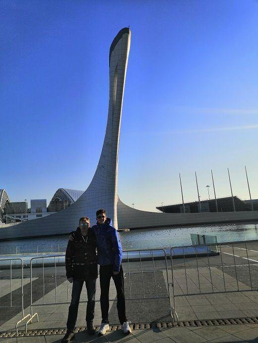 Олимпийском парк в Сочи